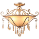 Crystorama Shelby 21 inch Wide Twilight Crystal Ceiling Light