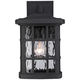 Quoizel Stonington 13 inch High Matte Black Outdoor Wall Light