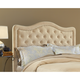 Hillsdale Trieste Queen Buckwheat Fabric Headboard