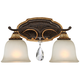 Metropolitan Chateau Nobles 16 1/4 inch Wide Bronze Bath Light