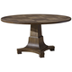 Playlist 58 inch Wide Brown Eyed Girl Wood Round Dining Table