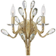 Fredrick Ramond Eve 15 1/2 inch High Champagne Gold Wall Sconce