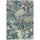 Surya Aberdine 7'6 inch x 10'6 inch Teal Blue and Gray Area Rug