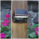 Mystic 3 inch High Electroplated Copper Solar LED Deck Light