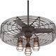 32 inch Vintage Breeze 3-Light Bendlin Cage Ceiling Fan