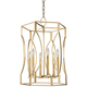 Hudson Valley Roswell 17 1/2 inch Wide Aged Brass Pendant Light