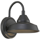 Westley 8 1/2 inch High Black LED Outdoor Wall Light