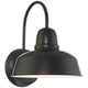 Urban Barn Collection 13 inch High Black Outdoor Wall Light