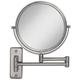 Satin Nickel Wall Mounted Dual-Jointed Mirror