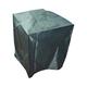 Heavy Duty Black 60 inch High Medium Outdoor Fountain Cover
