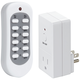 Tesler E-Z Control White 1-Plug Wireless Remote Wall Outlet