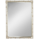 Takeo Rectangle 31 inch x 43 inch Silver Bamboo Wall Mirror