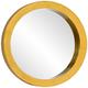 Varaluz Casa Ringleader Gold Leaf 23 1/2 inch Round Wall Mirror