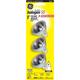 GE 50 Watt MR16 3-Piece Value Pack Halogen Light Bulbs