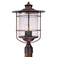 Casa Mirada 19 3/4 inch High Bronze Outdoor Post Light