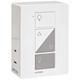 Caseta White Plug-In Dual Lamp Dimmer