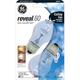 GE Reveal 60 Watt Ceiling Fan 2-Pack Clear Light Bulbs