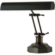 Dark Mahogany Bronze Finish Piano Desk Lamp