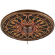 Tracery Jewels 24 inch Wide Bronze Finish Ceiling Medallion