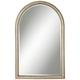 Simone Champagne Silver Arch 27 1/2 inch x 43 inch Wall Mirror