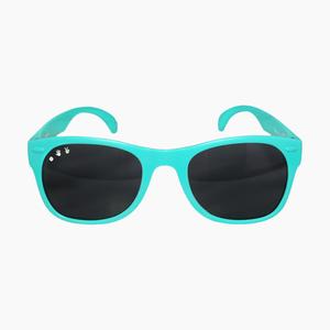 Roshambo Baby shades Unbreakable Sunglasses 100/% UVA//UVB Protection for Babies 0-18months Popple // Purple