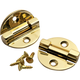 Solid Brass Lid Support Hinge