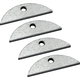 Thin Stock Threaded Inserts, 4-Pack