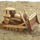 Toy Bulldozer Plan