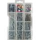 Nail, Tack and Brad Hardware Variety Pack, 1345-Pack