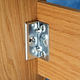 No-Mortise Bed Rail Brackets