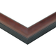 2-1/8'' W x 54' 'L Scoop Prefinished Picture Frame Molding, Cherry Finish