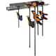 Rockler Quick-Release Bar Clamp Rack
