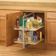 Short Center Mount Pantry Pullout