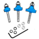 Rockler Round Over Beading Router Bit Set - 1/4