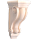 Bendix 2018 Hand Carved Plain Corbel