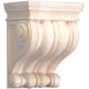 Bendix Hand Carved Wide Traditional Corbel