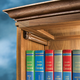 Barrister Bookcase Door Slides
