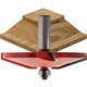 Freud® Quadra-Cut™ Bevel Raised Panel Router Bits - 1/2