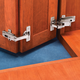 Salice® Face Frame Self-Closing Pie-Corner Cabinet Hinge Kit
