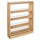 Rev-A-Shelf Filler Pullout Organizer w/Adjustable Shelves for Base Cabinets (432-BF Series)