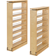 Rev-A-Shelf Tall Filler Pullout Organizer w/Adjustable Shelves (432-TF Series)
