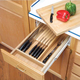 Complete Drawer System for Knives w/Cutting Board, Rev-a-Shelf 4KCB Series