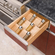 Kitchen Drawer Organizer Spice Tray Insert, Rev-a-Shelf 4SDI Series