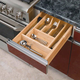 Wood Kitchen Drawer Organizer Inserts, Rev-a-Shelf 4WCT Series