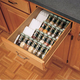 Kitchen Drawer Organizer Spice Tray Insert, Rev-a-Shelf ST50 Series