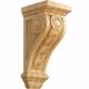 Large Bijou Carved Corbel