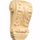 Petite French Acanthus Carved Corbel