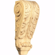 Small French Acanthus Carved Corbel