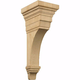 Medium Arts and Crafts Carved Corbel