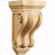 Medium Corinthian Carved Corbel